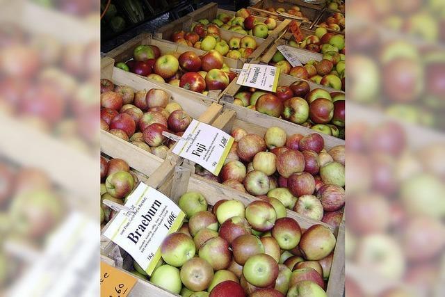 Ein Apfel passt in jede Tasche