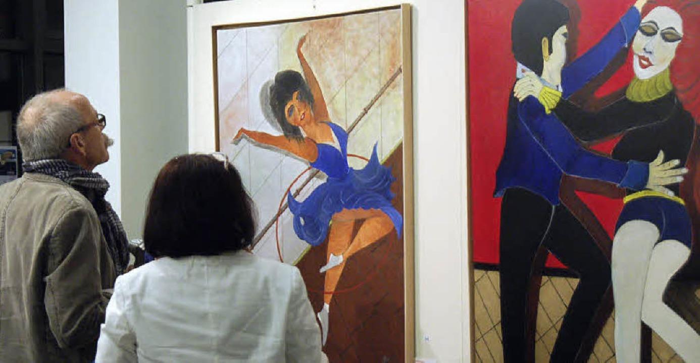 Kunstverein Gundelfingen zeigt bis 5. ... Werke der kunstschaffenden Mitglieder  | Foto: Andrea Steinhart