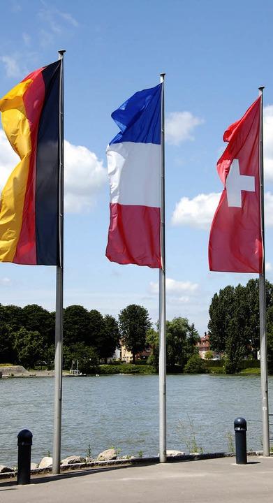 Die trinationale Region im Dreiland soll nach außen mit einer Stimme sprechen.   | Foto: Gramespacher