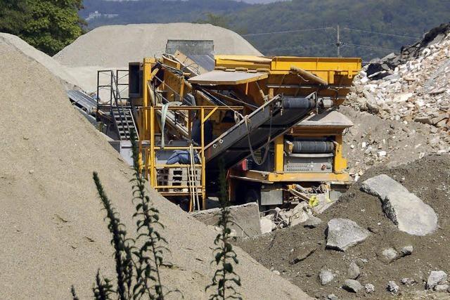 Recyclingbetrieb räumt FFH-Fläche