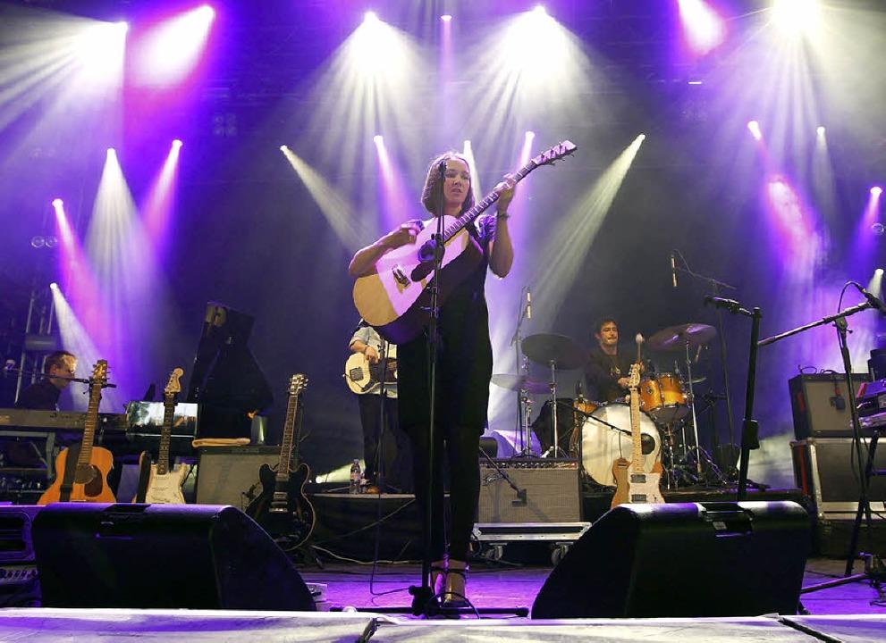Die Schweizer Sängerin Sophie Hunger  | Foto: dpa