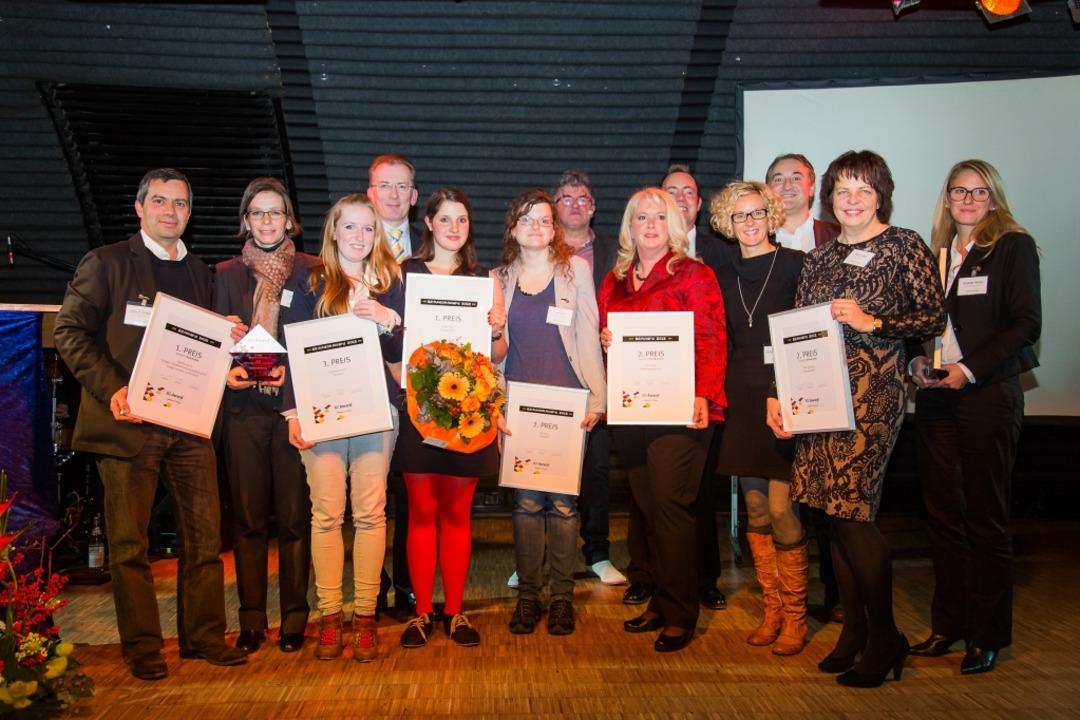 Sie holten die Preise Donnerstagabend ...do, Elke Gundlach, Annabelle Reichen.   | Foto: dominic Rock