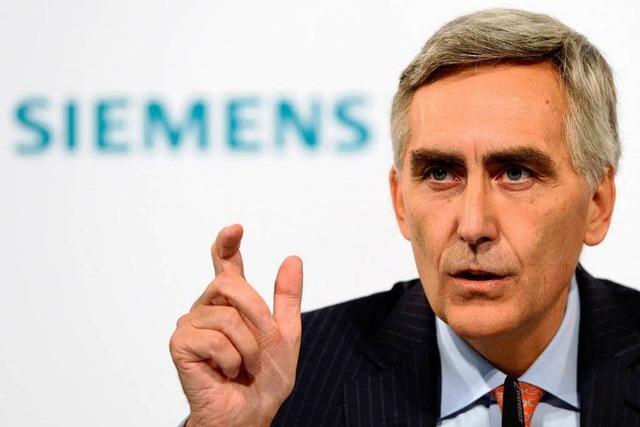 Siemens will sich an die Spitze sparen