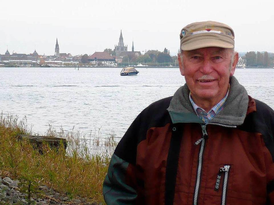 Hans Gerber, Wiederentdecker der Jura  | Foto: Dominik Bloedner