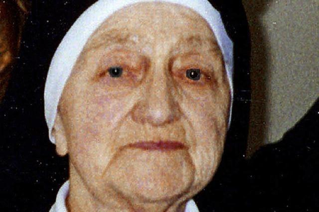 Mit 98 Jahren gestorben