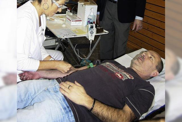 100. Blutspende in Kippenheim