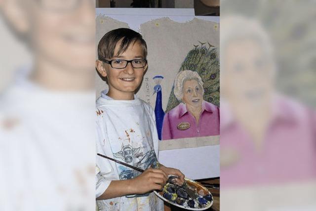 Der jüngste Hansel-Maler