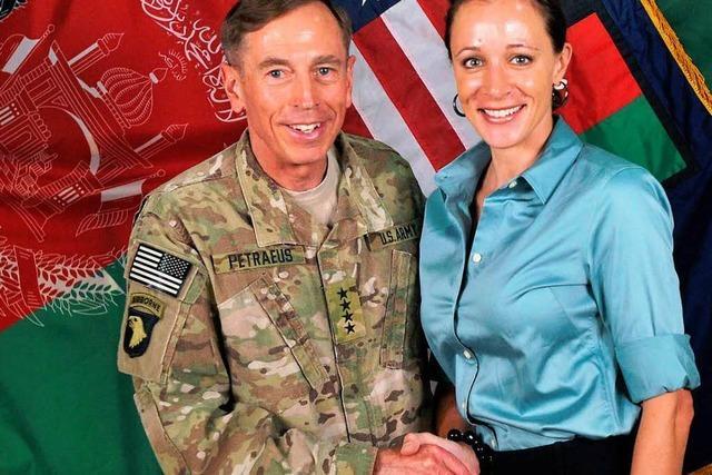 General Petraeus und die Affäre mit der Autorin