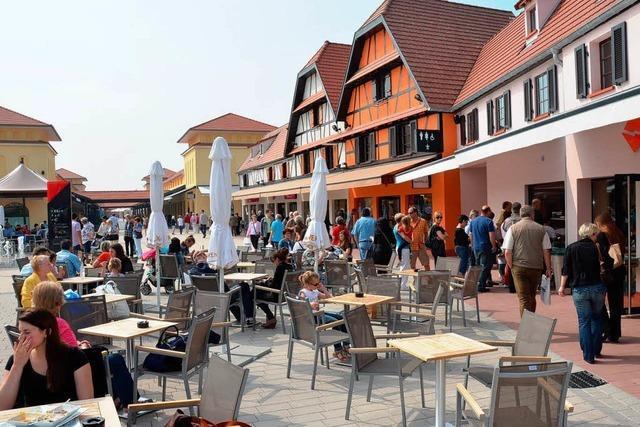Factory-Outlet im Elsass spornt badischen Handel an