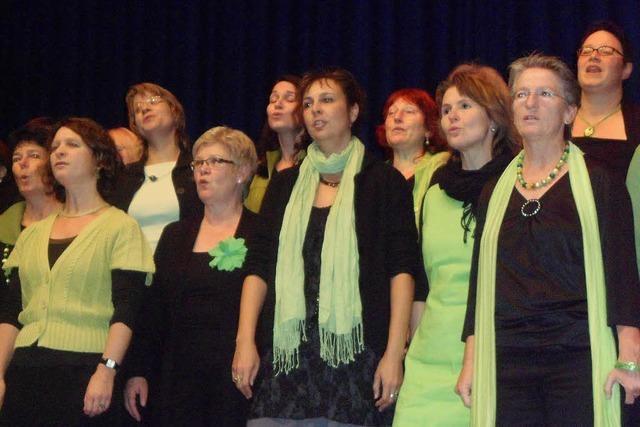 Singen im Chor hält jung und fit