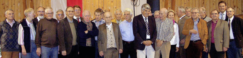 40 Jahre Club Thurnerspr Ehrungen beim festakt  | Foto: Heinrich Fehrenbach