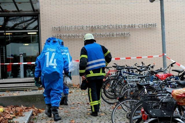 Chemieunfall in Uni-Institut verläuft glimpflich