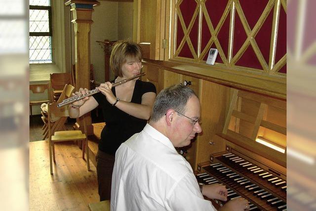 Kirchenkonzert mit Orgel und Querflöte