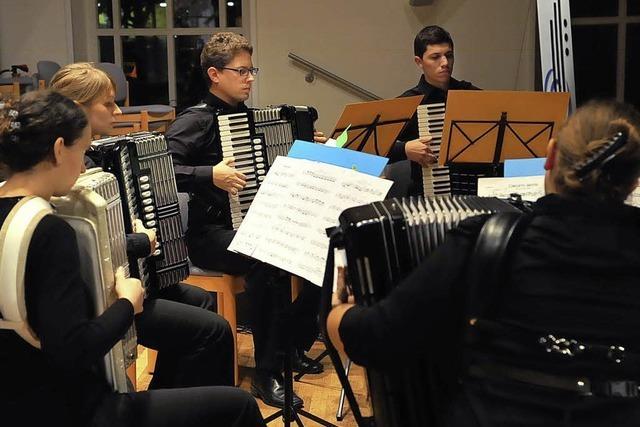 Konzert lenkt den Blick auf wichtige Wettbewerbe