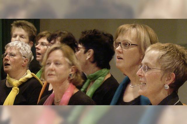 Der Chor zeigt, was er kann