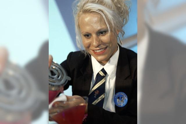Susen Olejniczak landet bei internationalem Cocktail-Wettbwerb auf dem fünften Platz