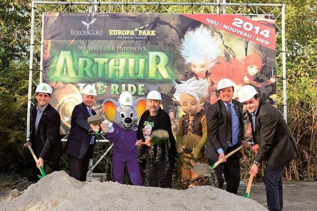 Europa-Park baut an neuer Achterbahn – Start 2014