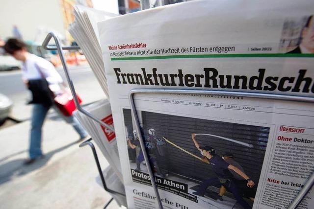 Frankfurter Rundschau stellt Insolvenzantrag