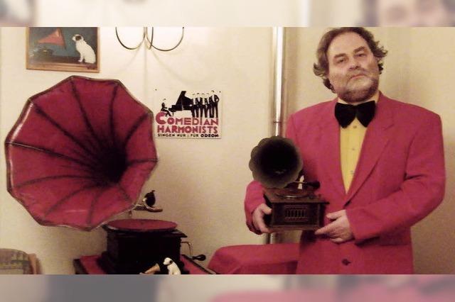 Grammophonmusik mit Martin Schreiber