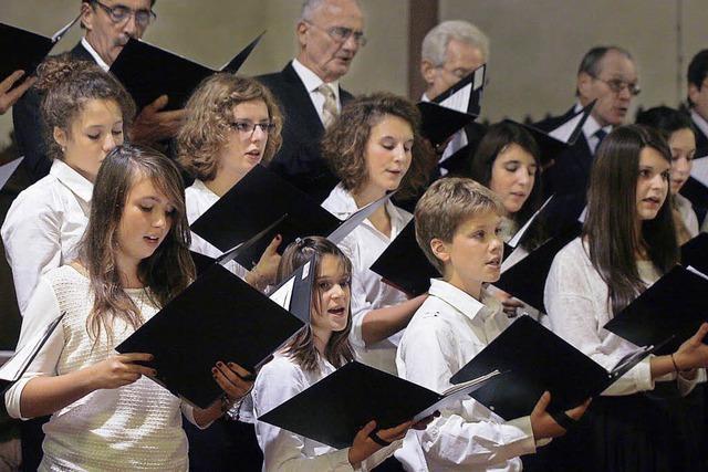 Grüße mit Gesang aus der französischen Partnerstadt