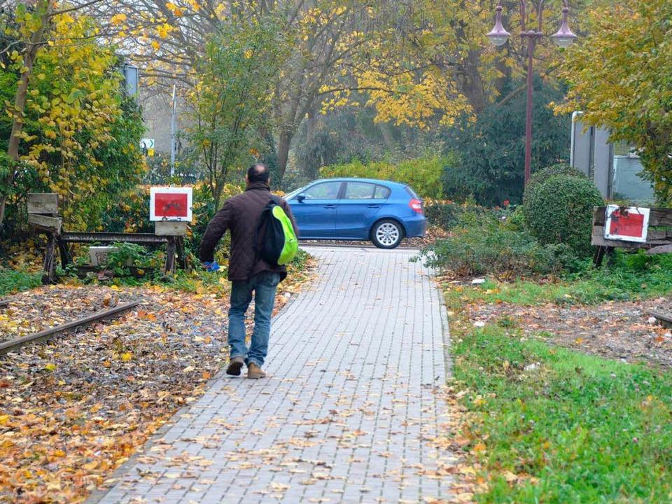 Endstation Breisach: Wer  mit öffentli...isacher Bahnhof  in den Bus umsteigen.  | Foto: Agnes Pohrt