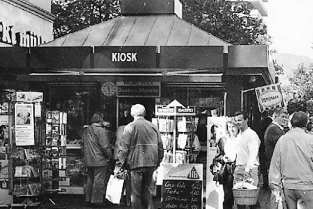 Der Kunde bleibt draußen: Ein Arbeitsleben im Kiosk