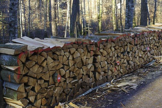 2013 wird weniger Holz geschlagen