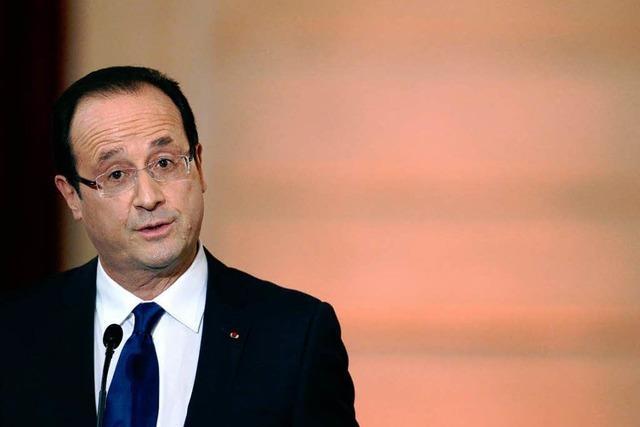 François Hollande in Erklärungsnot
