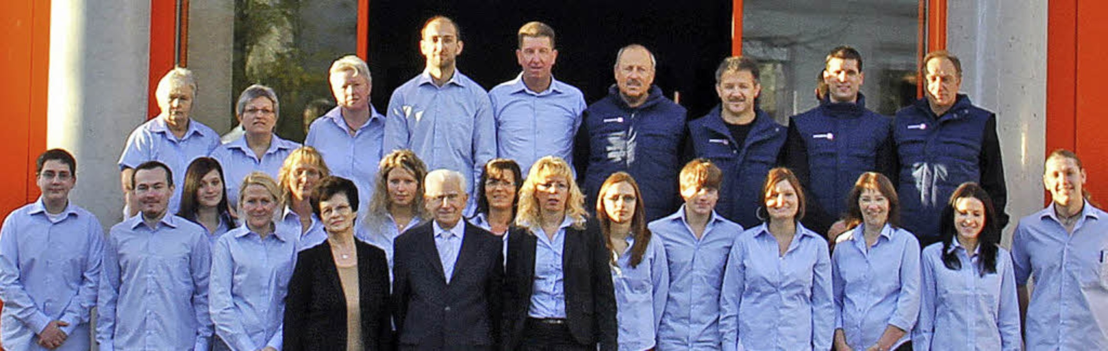 Das Team von Expert Villringer; stolz ...die neue TV- und Soundsystemabteilung.    Foto: Expert Villringer / Silke Hartenstein