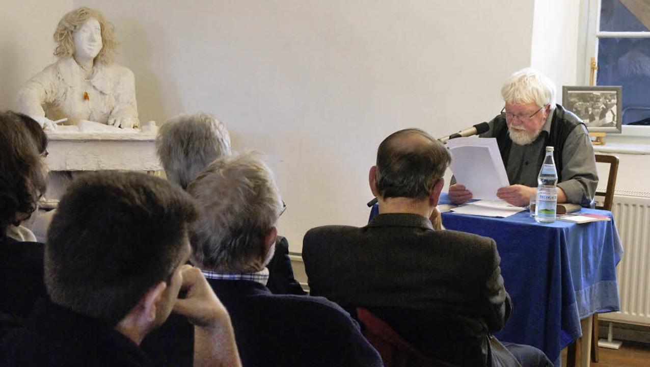 Seminar mit Walter Moosmann: Die Gesch...ließend bei einer Führung in Endingen.  | Foto: Ilona Hüge