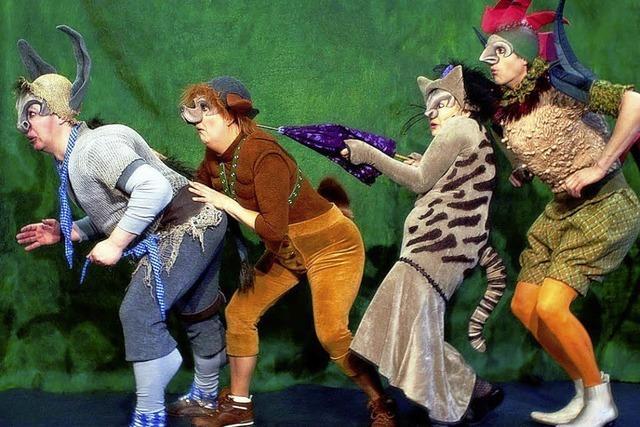 "Kindertheater: ""Die Bremer Stadtmusikanten"""