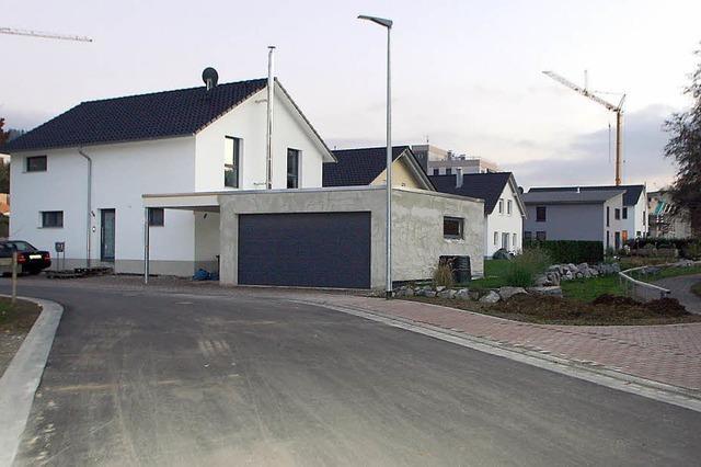 Gute Nachfrage nach Bauplätzen