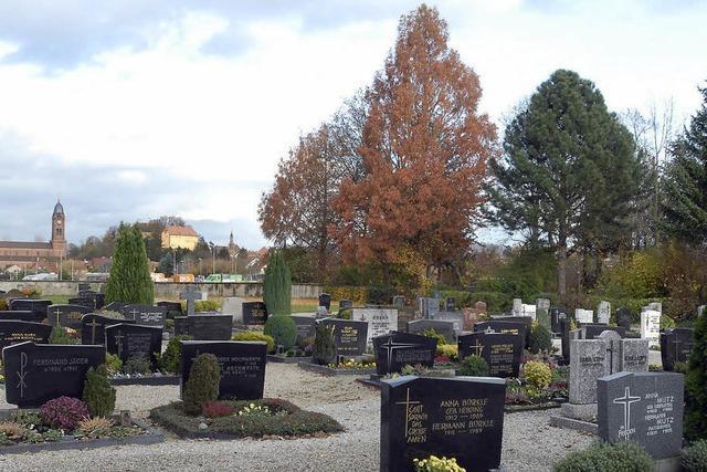 Neues Modell der Grabpflege