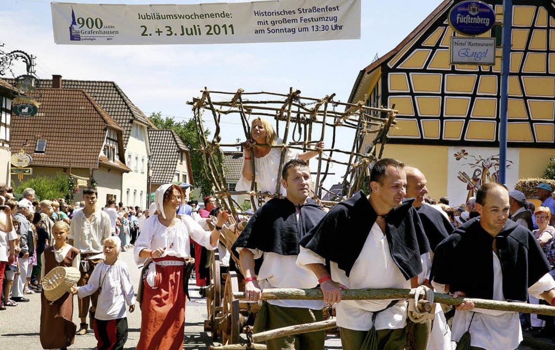 Ins Rollen gebracht hat das Ortsjubilä...h ein Arbeitskreis Historie gestartet.  | Foto: archivbild: sandra decoux-kone