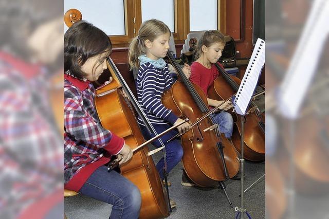 Musikunterricht für alle Kinder