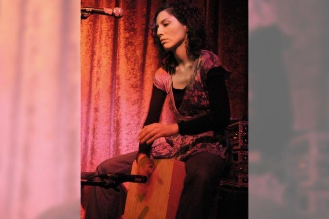 Weltmusik: Mágica Fe mit Débora Vilchez