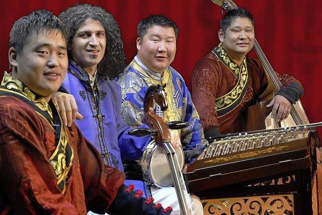 Weltmusik aus der Mongolei in der Wodan-Halle