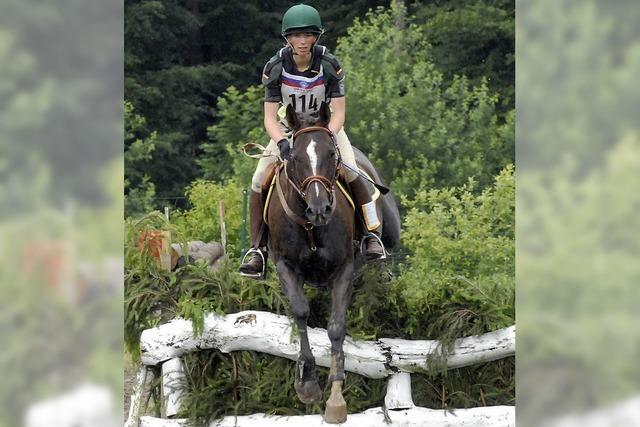 Erfolgreiche Reiter beim Regioturnier