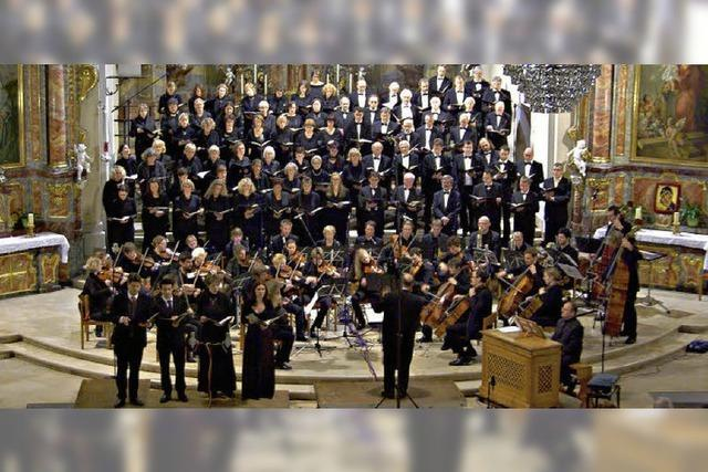 Freiburger Kantatenchor führt Brahms auf
