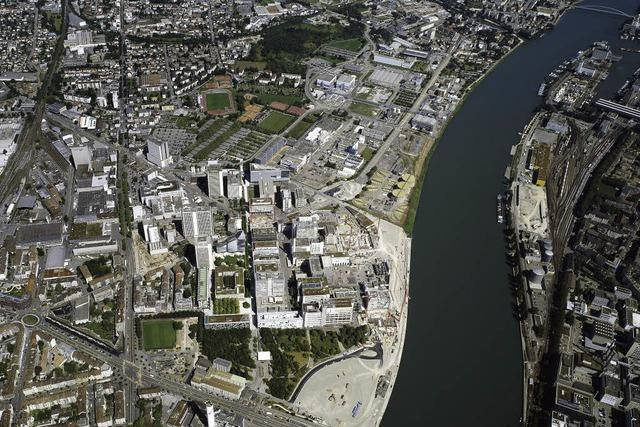 Novartis entsorgt Altlast am Rhein