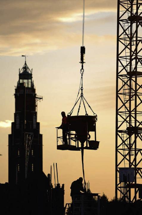Wachstumstreiber Bauwirtschaft  | Foto: dpa/dapd