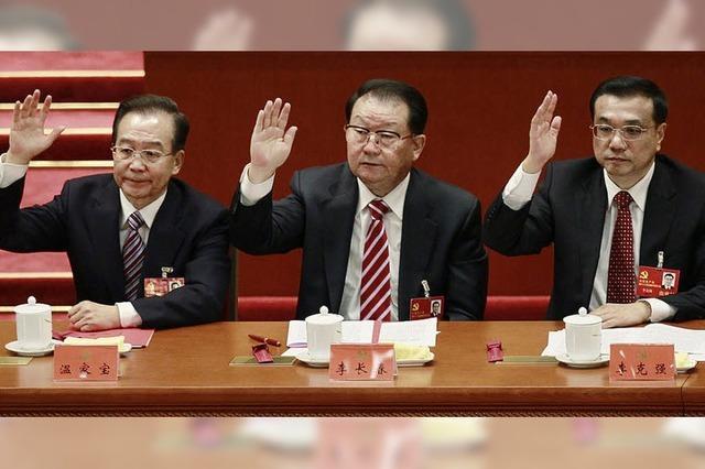Kommunistische Partei wählt neues Zentralkomitee