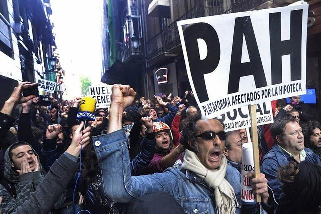 Europaweit Streiks gegen Sparpläne