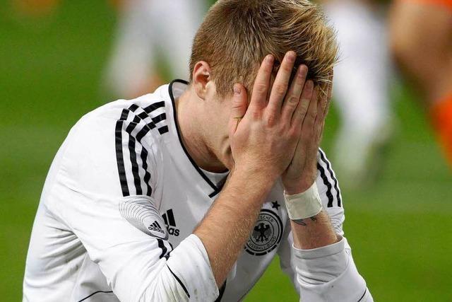 Zähes 0:0 im Spiel Holland gegen Deutschland