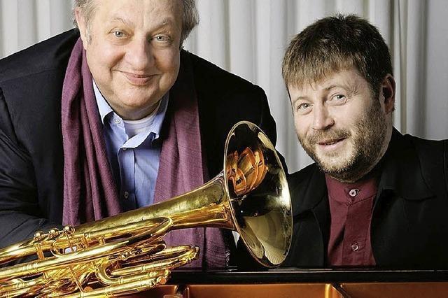 Vincent Klink und Patrick Bebelaar spielen in Dogern