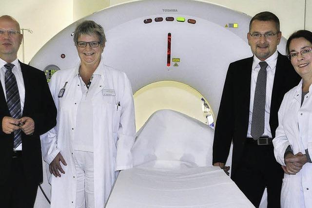 Neuer CT verringert Strahlendosis