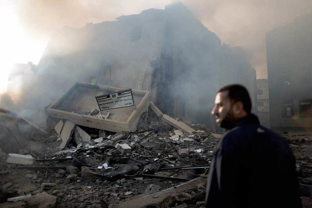 Krise in Nahost: Heftige Luftangriffe auf Gazastreifen