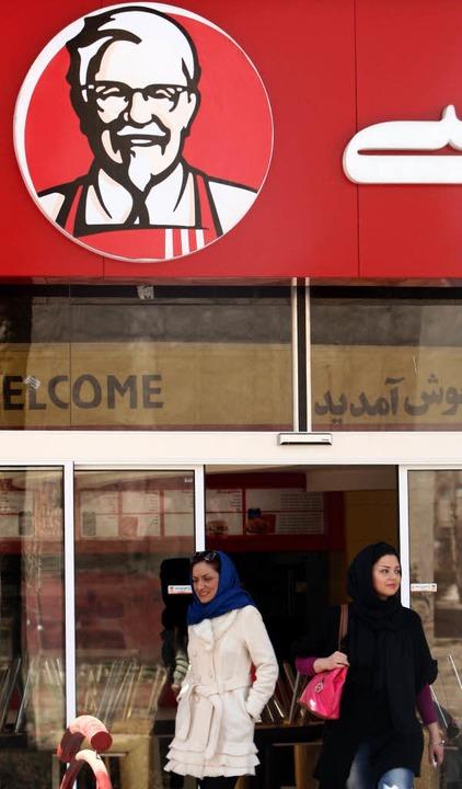 Wie alle Franchiseketten weltweit auf ...urde im Februra 2012 im Iran eröffnet.  | Foto: usage Germany only, Verwendung nur in Deutschland