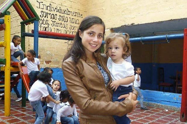 Einsatz für Kinder in Kolumbien