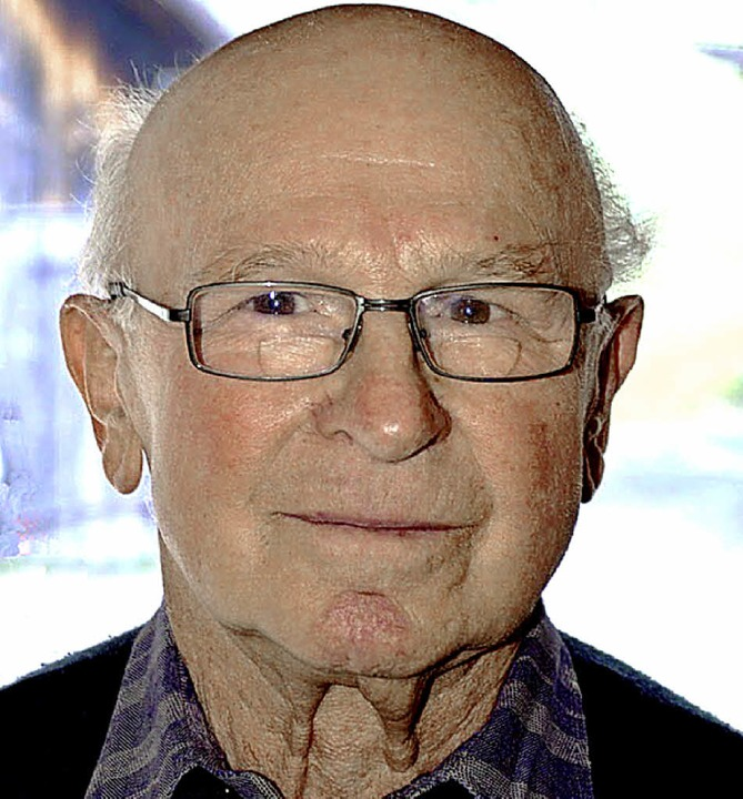 Georg Reinbold wird heute 80 Jahre alt.     Foto: Jürgen Schneider